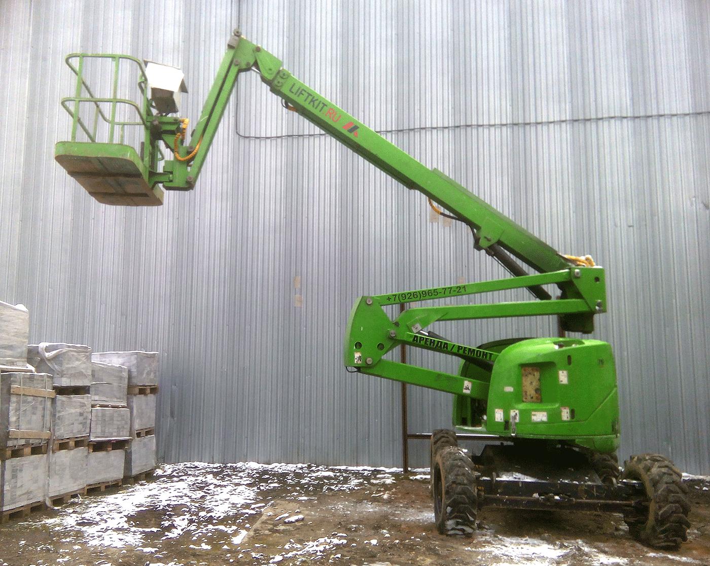 Коленчатый дизельный подъемник Haulotte 18 px