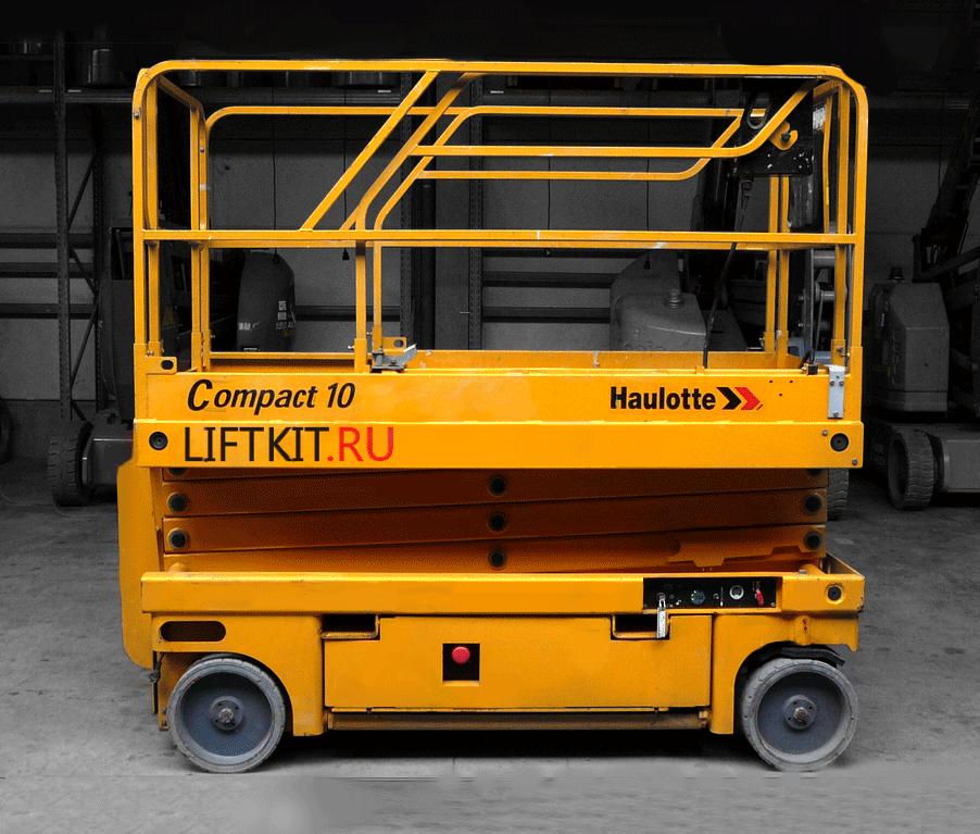Ножничный электрический подъемник Haulotte Compact 10