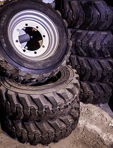 Комплект колес для подъемников Haulotte 12SX, 15SX, 18SX